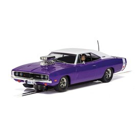 SCALEXTRIC SCA C4148 DODGE CHARGER PURPLE