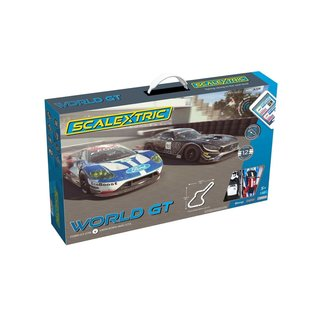 SCALEXTRIC SCA C1403 ARC AIR WORLDS GT SLOT CAR SET 1/32