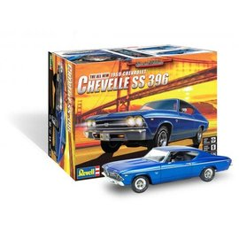 REVELL USA RMX 854492 THE ALL NEW 1969 CHEVELLE SS 396
