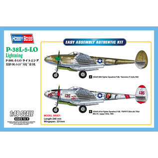 HOBBYBOSS HOB 85805 P-38L-5-LO Lightning 1/48 MODLE KIT