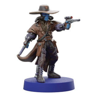 FANTASY FLIGHT FFG SWL67 CAD BAINE OPERATIVE EXPANSION MINIATURE