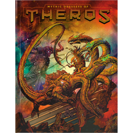 DUNGEONS & DRAGONS WTC C7893 D&D MYTHIC ODYSSEYS OF THEROS BOOK (ALT COVER)