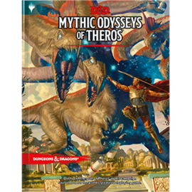 DUNGEONS & DRAGONS WTC C7875 D&D MYTHIC ODYSSEYS OF THEROS BOOK