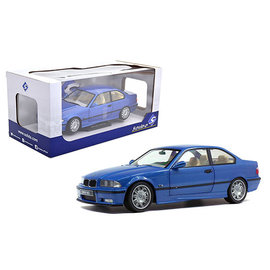 SOLIDO SOL S1803901 BMW 1990 E36 M3 COUPE BLUE 1/18
