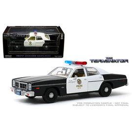 GREENLIGHT COLLECTABLES GLC 84101 The Terminator 1984 Dodge Monaco LAPD 1/24 die cast