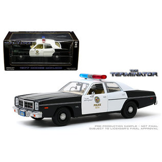 GREENLIGHT COLLECTABLES GLC 84101 The Terminator 1984 Dodge Monaco LAPD 1/24 die cast