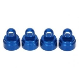 TRAXXAS TRA 3767A Shock Caps Alum Blue Anodized (4)