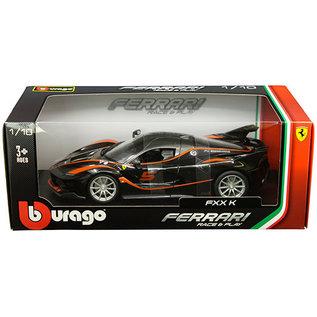 BURAGO BUR 16010BLACK FERRARI FXX K BLACK 1/18 DIECAST