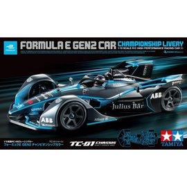 TAMIYA TAM 58681 1/10 Formula E Gen2 Championship Livery 4WD TC-01