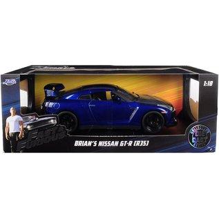JADA TOYS JAD 97035 BRIANS Nissan GT-R R35 1/18 DIECAST