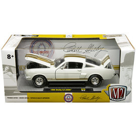 M2 M2 40300-75A 1966 SHELBY GT350H WHITE GOLD 1/24 DIECAST