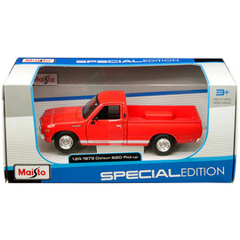 MAISTO MAI 31522 1973 DATSUN 620 PICK-UP RED