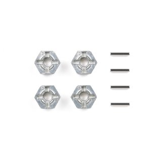 TAMIYA TAM 53056 PIN TYPE METAL WHEEL ADAPTER HEX 1/10