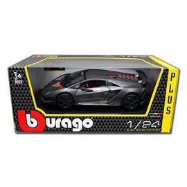 BURAGO BUR 21061 LAMBORGHINI SESTO ELEMENTO GREY 1/24 diecast