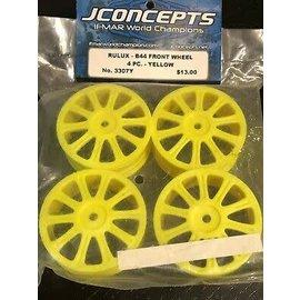 JCO 3307Y Rulux 1/10 B44 Fr Wheel Ylw (4)