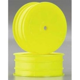 DTX C3851 LOSI 22 1/10 2WD WHEEL YELLOW FRONT