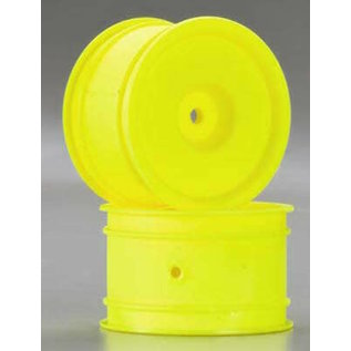 DTX C3847 4WD WHEEL YELLOW KYOSHO LOSI 12MM HEX REAR