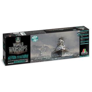 ITALERI ITA 46501 1/700 World Of Warships Bismark w/Bonus Codes MODEL KIT