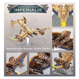 GAMES WORKSHOP WAR 99121808006 AERONAUTICA IMPERIALIS AVENGER STRIKE FIGHTERS IMPERIAL NAVY