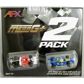 AFX AFX 22017 Two Pack - Formula (MG+) Cars