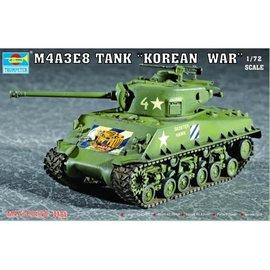 "TRUMPETER TRU 07229 M4A3E8 TANK ""Korean War"" 1/72 MODEL KIT"