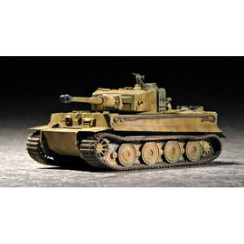 TRUMPETER TRU 07244 1/72 German Tiger I Tank Late Production 1/72 MODEL KIT