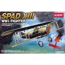Academy/Model Rectifier Corp. ACA 12446 SPAD XIII FIGHT 1/72 MODEL KIT