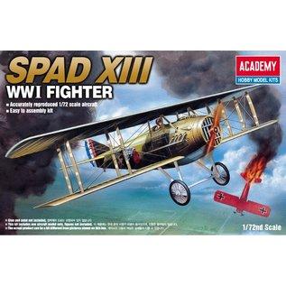 Academy/Model Rectifier Corp. ACA 12446 SPAD XIII FIGHT 1/72 MODEL KIT
