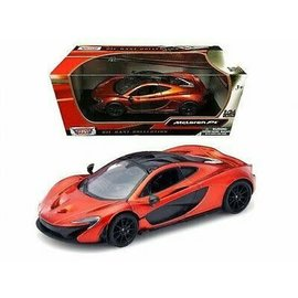 MOTOR MAX MM 79325OR MCLAREN P1 ORANGE 1/24 DIECAST