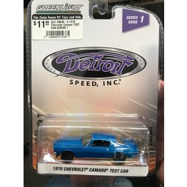 GREENLIGHT COLLECTABLES GLC 39040-E 1970 Chevrolet Camaro TEST CAR SERIES 1 1/64
