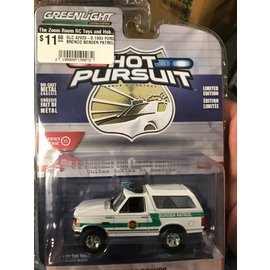 GREENLIGHT COLLECTABLES GLC 42920-D 1993 FORD BRONCO BORDER PATROL