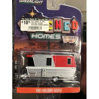 GREENLIGHT COLLECTABLES GLC 34080-A 1961 HOLIDAY HOUSE HITCHED HOMES SERIES 8