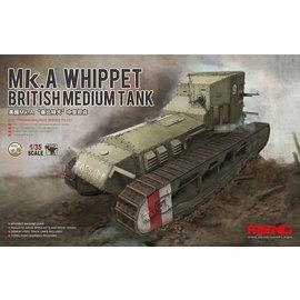 MENG MEN TS-021 MK.A WHIPPET BRITISH MEDIUM TANK