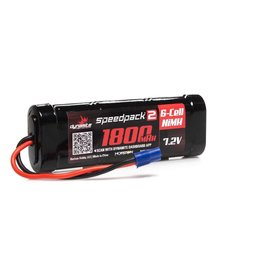 DYN B2050EC SPEEDPACK 2 7.2V 1800MAH 6 CELL NiMH, FLAT EC3