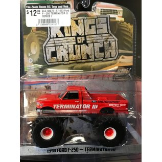 GREENLIGHT COLLECTABLES GLC 49070-E 1993 Ford F-250 TERMINATOR III SERIES 7