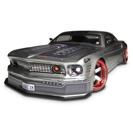 FIREBRAND FIR MACHSPEED GTR MUSTANG BODY CLEAR UNPAINTED 202MM