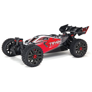 ARRMA ARA 4306V3 TYPHON 4X4 3S BLX Brushless 1/8th 4wd Buggy Red
