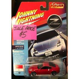 JOHNNY LIGHTNING JLC CG016ZR NISSAN 350Z RED 1/64