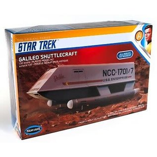 POLAR LIGHTS POL 909 1/32 Galileo Shuttle STAR TREK MODEL KIT