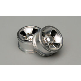 RC4WD RC4 Z-W0025 LAWLESS 2.2 CUSTOM ALUMINUM WHEELS SILVER (4 pack)