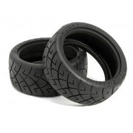 HPI RACING HPI 4790 X-Pattern Tire 26mm D-Compound (2)