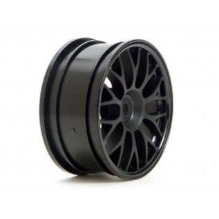 HPI RACING HPI 3711 Mesh Wheel 26mm Black (1mm Offset)
