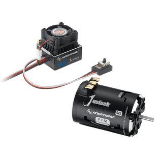 Hobbywing HWI 38020239 Justock ESC, Justock 3650 SD G2.1 Motor - Combo