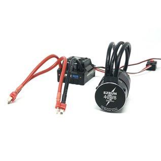 Hobbywing HWI 38010402 EzRun 4268 2600KV Motor, w/ Max8 ESC XT90 Combo