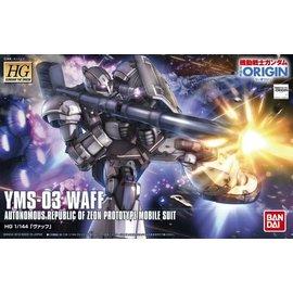 BANDAI BAN 5059239 YMS-03 Waff HG 1/144 Plastic Model Kit