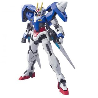BANDAI BAN 5059234 GN-0000 HG OO Gundam 1/144 Model Kit