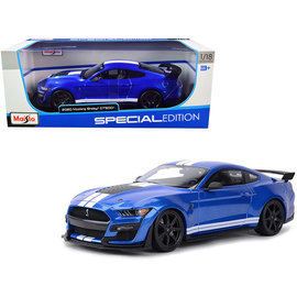 MAISTO MAI 31388 FORD MUSTANG SHELBY GT500 BLUE