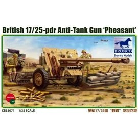 BRONCO BRO CB35071 1/35 British 17/25 Pounder Anti