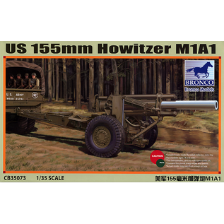 BRONCO BRO CB35073 1/35 US 155mm Howitzer M1A1