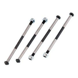 MUGEN MUG E0123 Lower Suspension Shafts w/Nuts (4pcs): X6, 5R/T